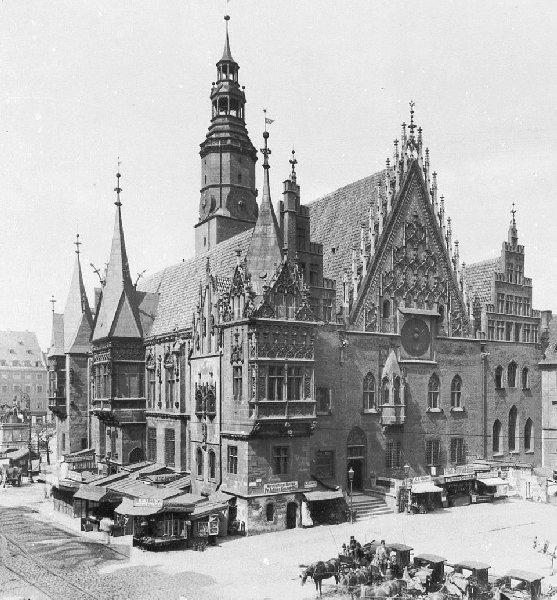 City Hall of Breslau (Wroclaw) 1895